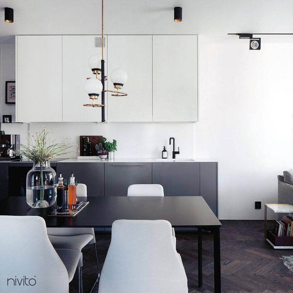 Schwarz Armatur - Nivito 11-RH-320
