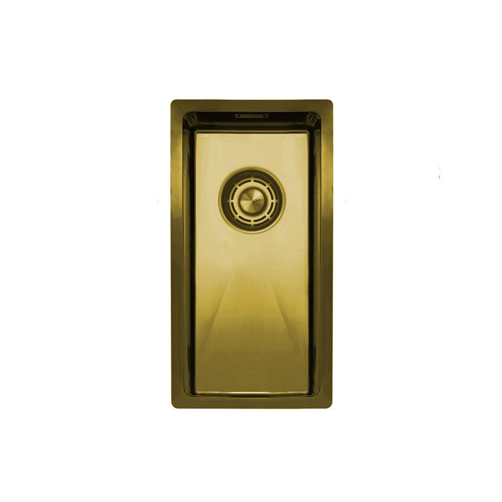 Messing/Gold Küchenbecken/Küchenspülen - Nivito CU-180-BB