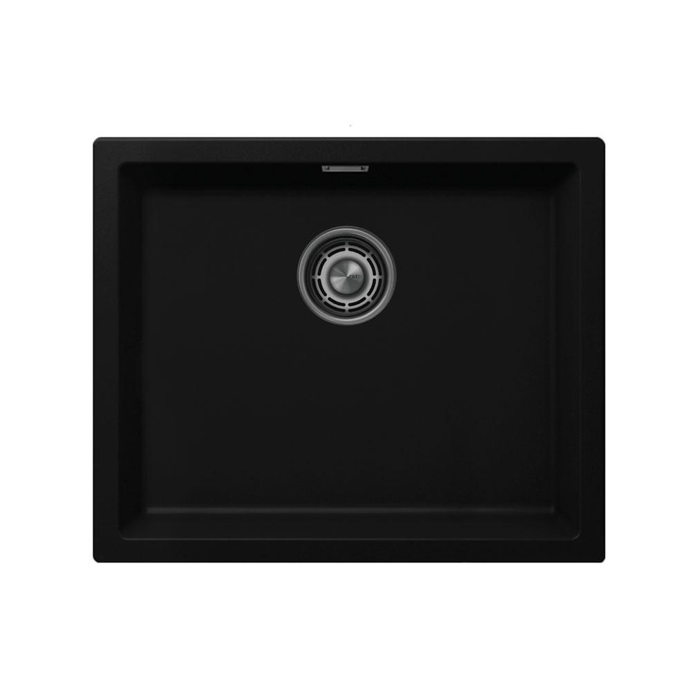 Schwarz Kitchen Sink - Nivito CU-500-GR-BL