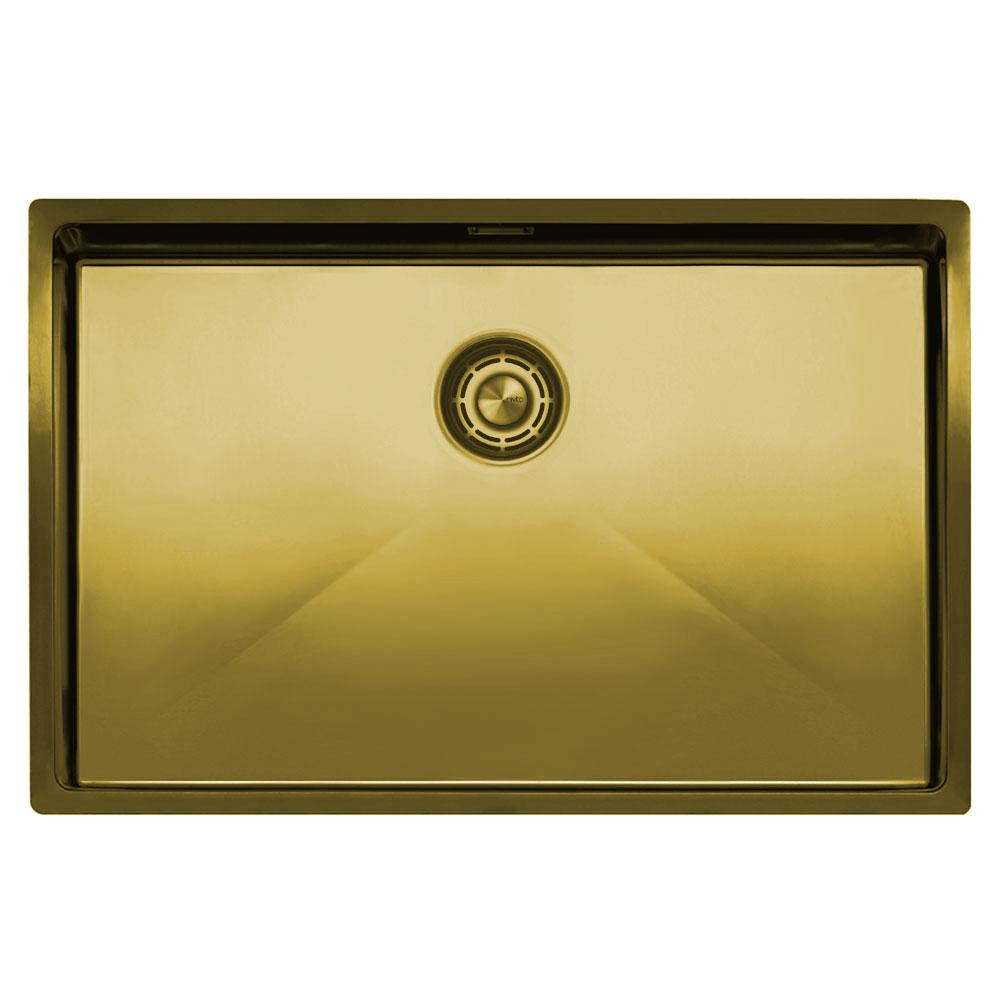 Messing/Gold Küche Waschbecken - Nivito CU-700-BB