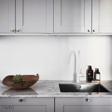 Weiß küche wasserhahn mischbatterie