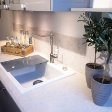Edelstahl Küchenarmatur - Nivito 3-CL-100