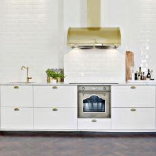 Messing/Gold Küchenarmatur - Nivito 3-CL-160