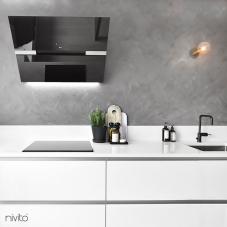 Schwarz Küchenarmatur - Nivito 3-RH-320