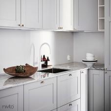 Weiß küche wasserhahn armatur
