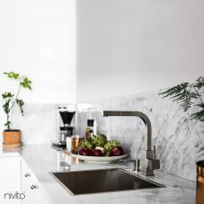 Edelstahl Küchenarmatur - Nivito 1-SP-300