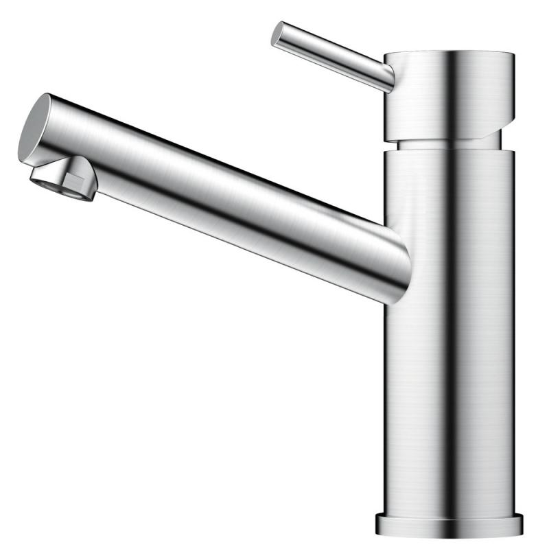 Edelstahl Badezimmer Wasserhahn - Nivito FL-10