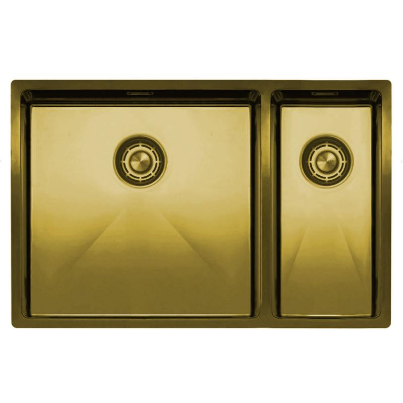 Messing/Gold Küche Waschbecken - Nivito CU-500-180-BB