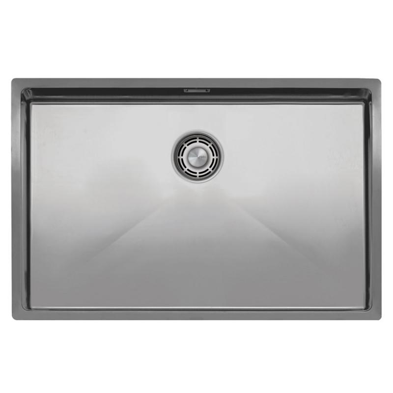 Edelstahl Küche Waschbecken - Nivito CU-700-B