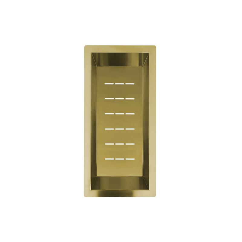 Messing/Gold Sieb Schüssel - Nivito CU-WB-200-BB