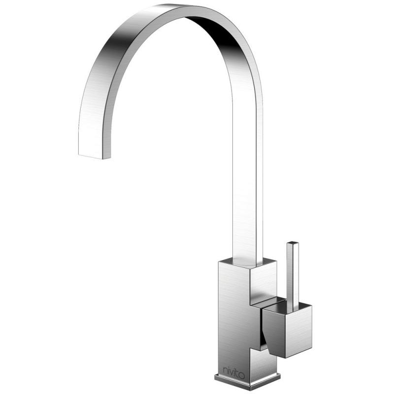 Edelstahl Küchenarmatur - Nivito RE-100
