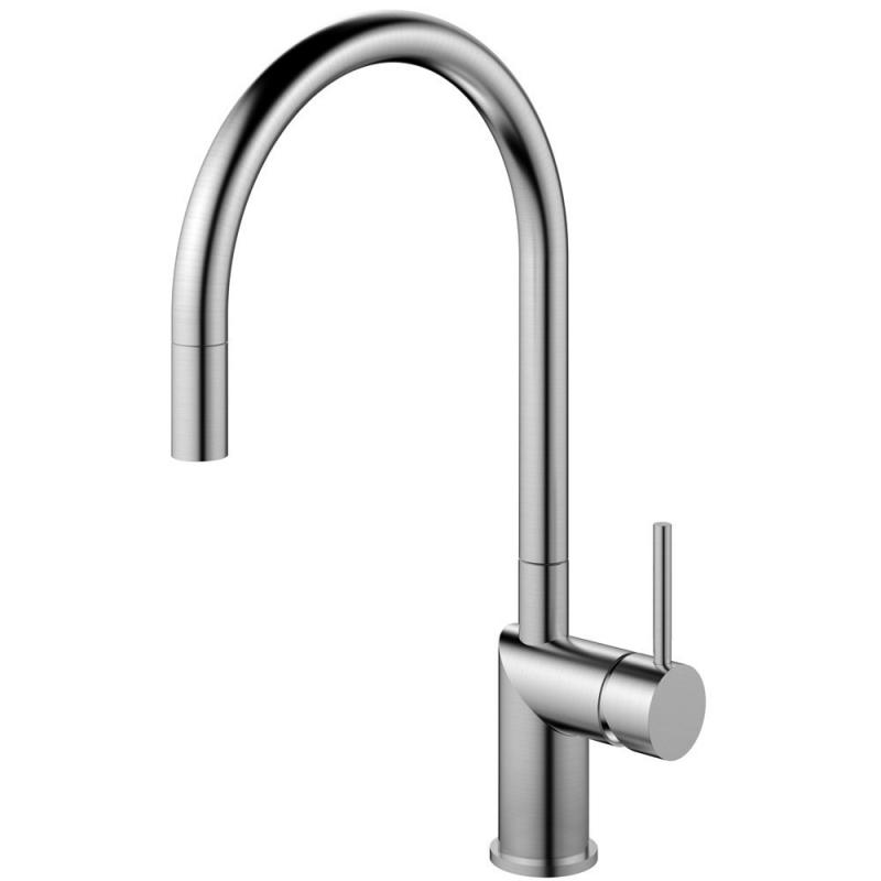 Edelstahl Küchenarmatur Ausziehbarer Schlauch - Nivito RH-100-EX