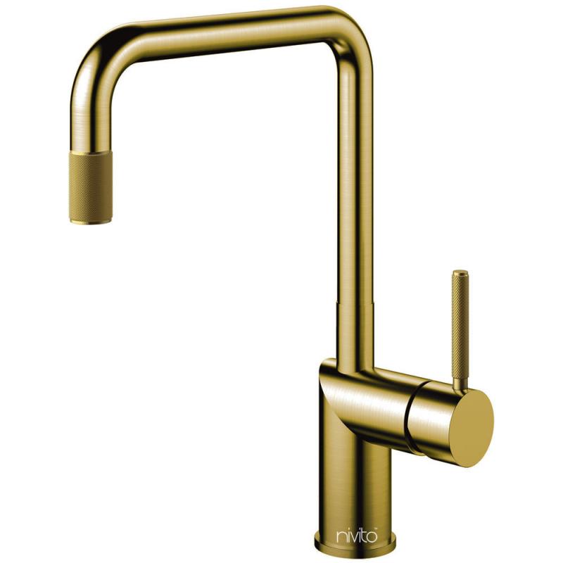 Messing/Gold Küchenarmatur - Nivito RH-340-IN
