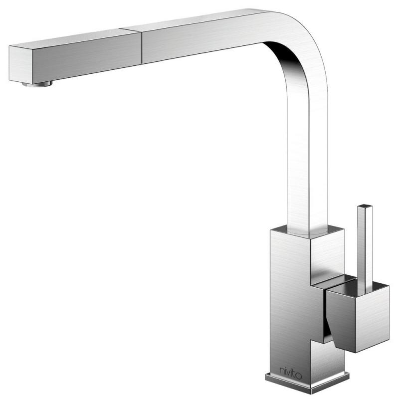 Edelstahl Küchenarmatur - Nivito SP-300