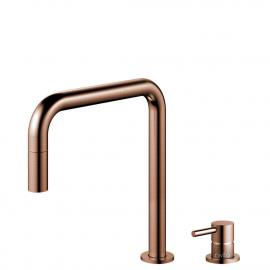 Kupfer Küche Wasserhahn Ausziehbarer Schlauch / Getrenntes Körper/Rohr - Nivito RH-350-VI