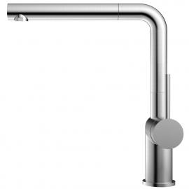 Edelstahl Küche Wasserhahn Ausziehbarer Schlauch - Nivito RH-600-EX