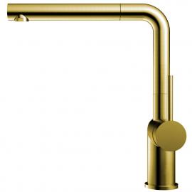 Messing/Gold Küche Wasserhahn Ausziehbarer Schlauch - Nivito RH-640-EX